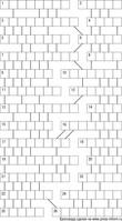 Кроссворд лабиринт 13x13 клеток