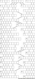 Кроссворд лабиринт 13x17 клеток