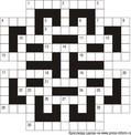 Кроссворд тематический  15x15 клеток, тематика растения