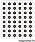 Сотовый кроссворд  13x17 клеток (~78x102 мм.), 6 букв